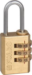 Замок кодовый Fuaro PL-3521 (21 мм)
